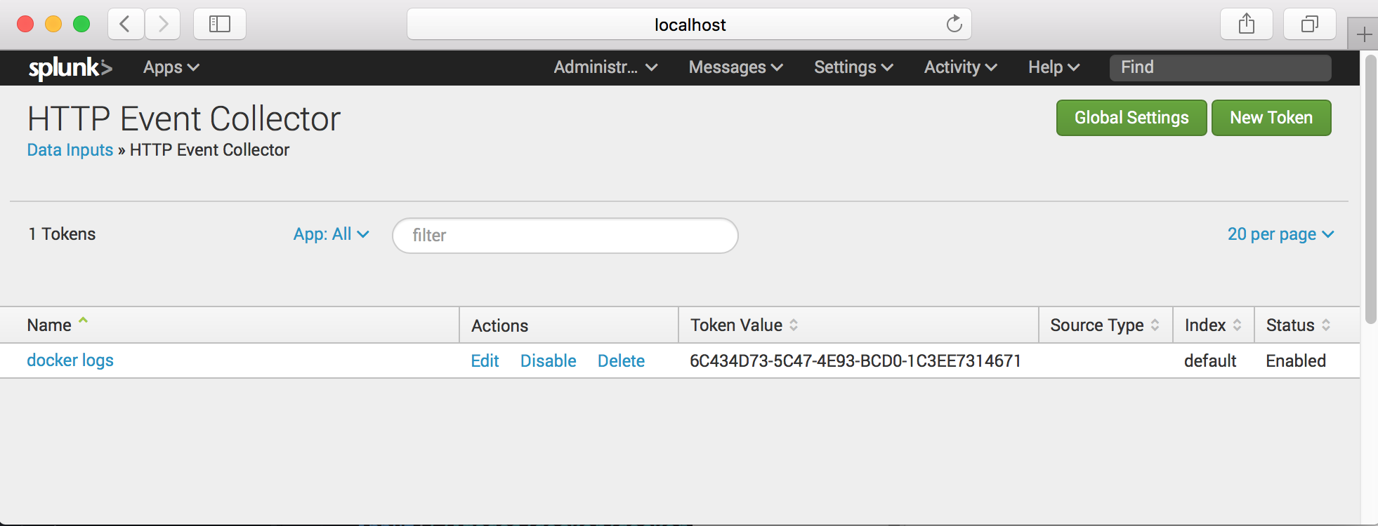 Docker Splunk logging driver – Çaysever - JavaMan